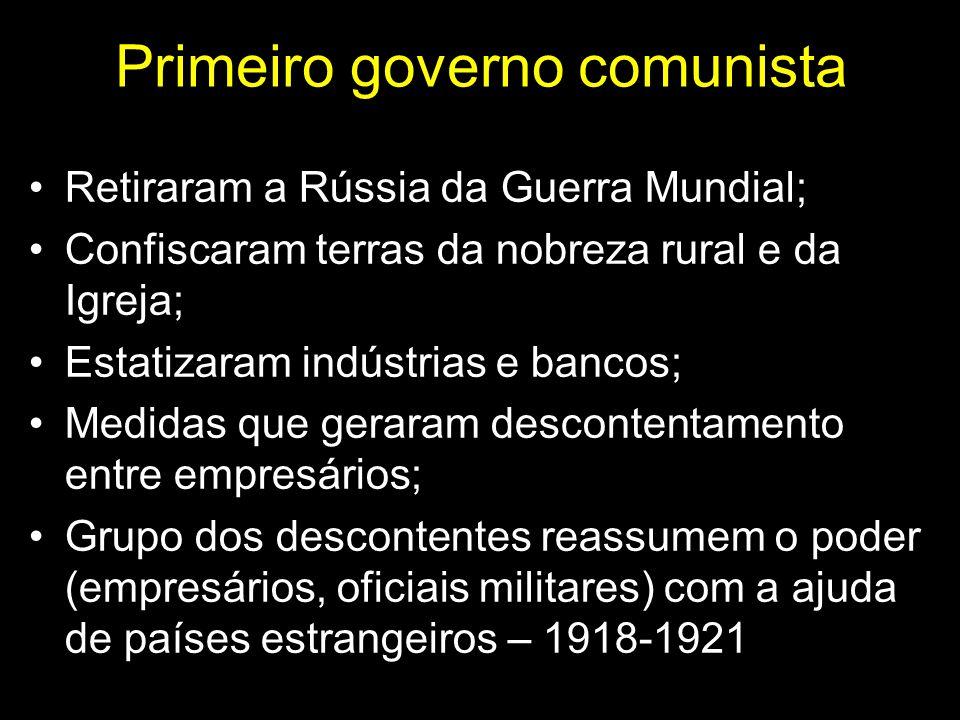 Primeiro governo comunista