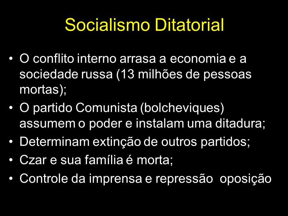 Socialismo Ditatorial