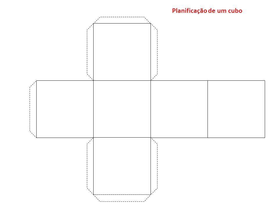 Planificação de um cubo