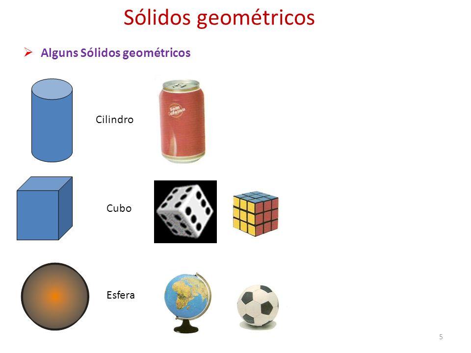 Sólidos geométricos Alguns Sólidos geométricos Cilindro Cubo Esfera