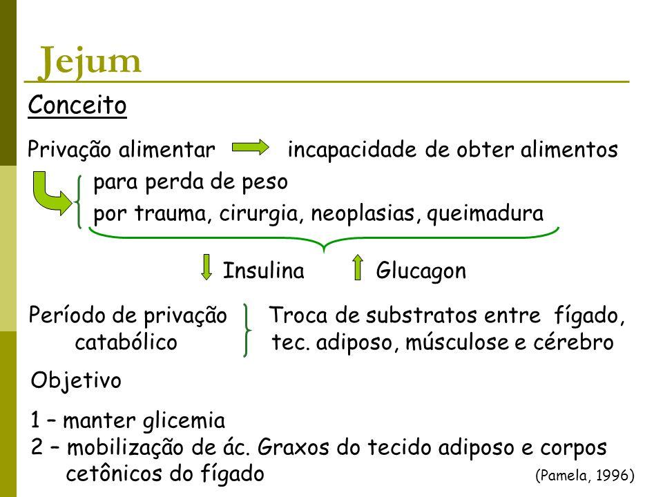 Jejum Conceito Privação alimentar incapacidade de obter alimentos