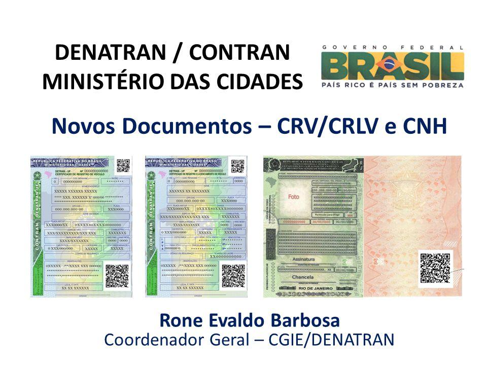 Novos Documentos – CRV/CRLV e CNH