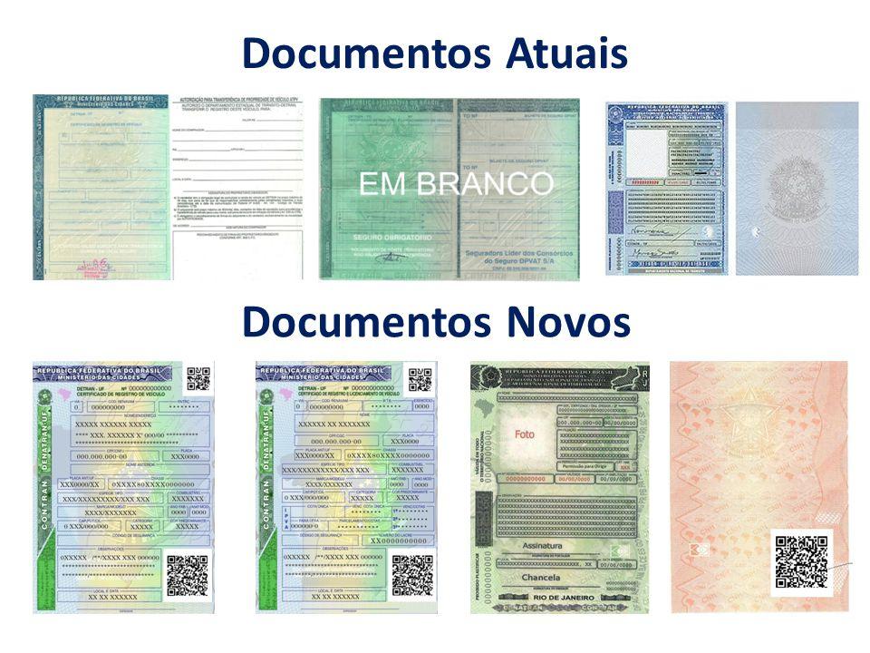 Documentos Atuais Documentos Novos