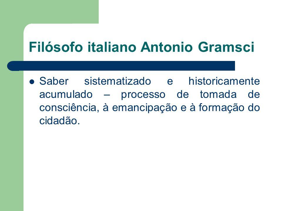 Filósofo italiano Antonio Gramsci