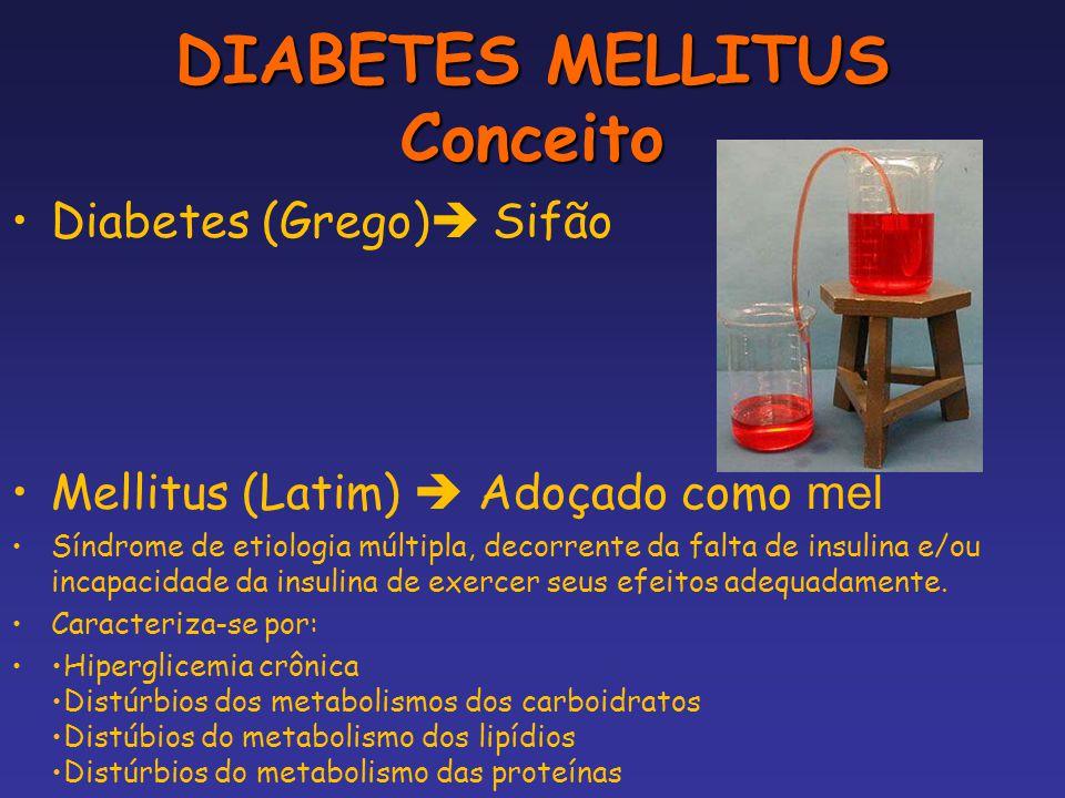 DIABETES MELLITUS Conceito