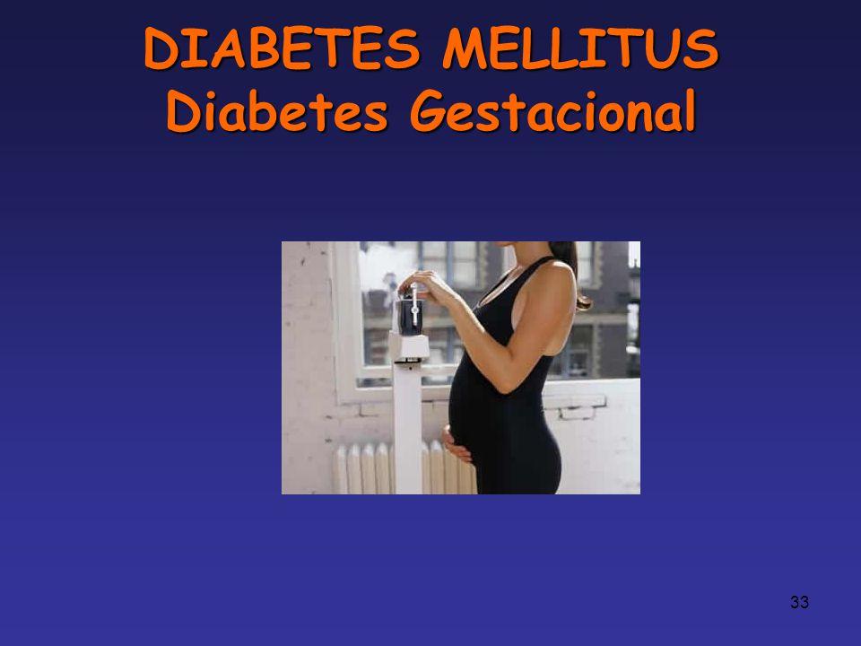 DIABETES MELLITUS Diabetes Gestacional