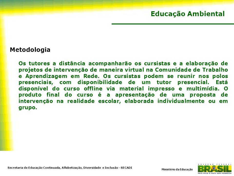 Educação Ambiental Metodologia