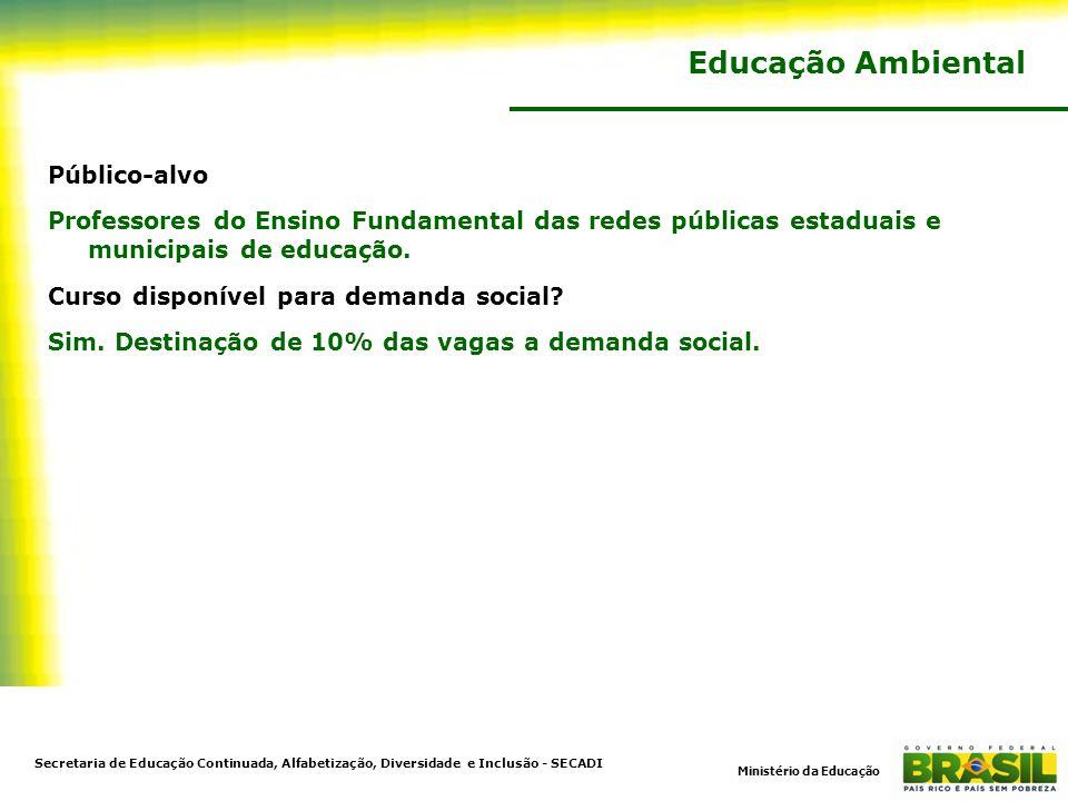 Educação Ambiental Público-alvo