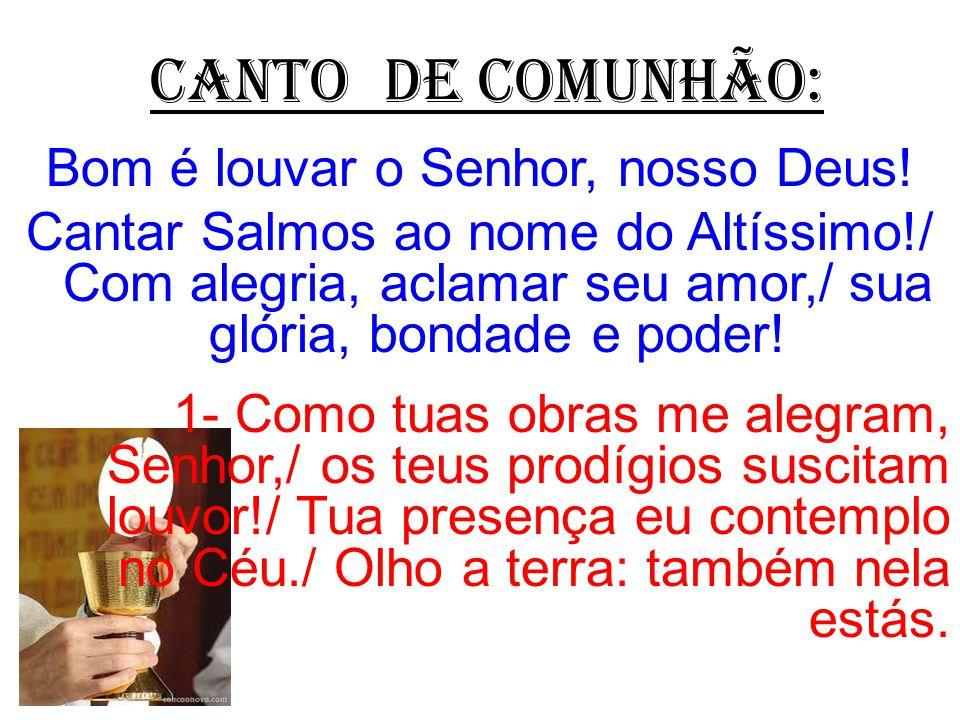BeM-VINDOS À 31ª SEMANA COMUM!
