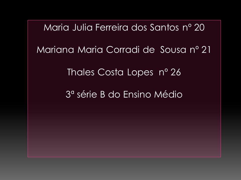 Maria Julia Ferreira dos Santos nº 20