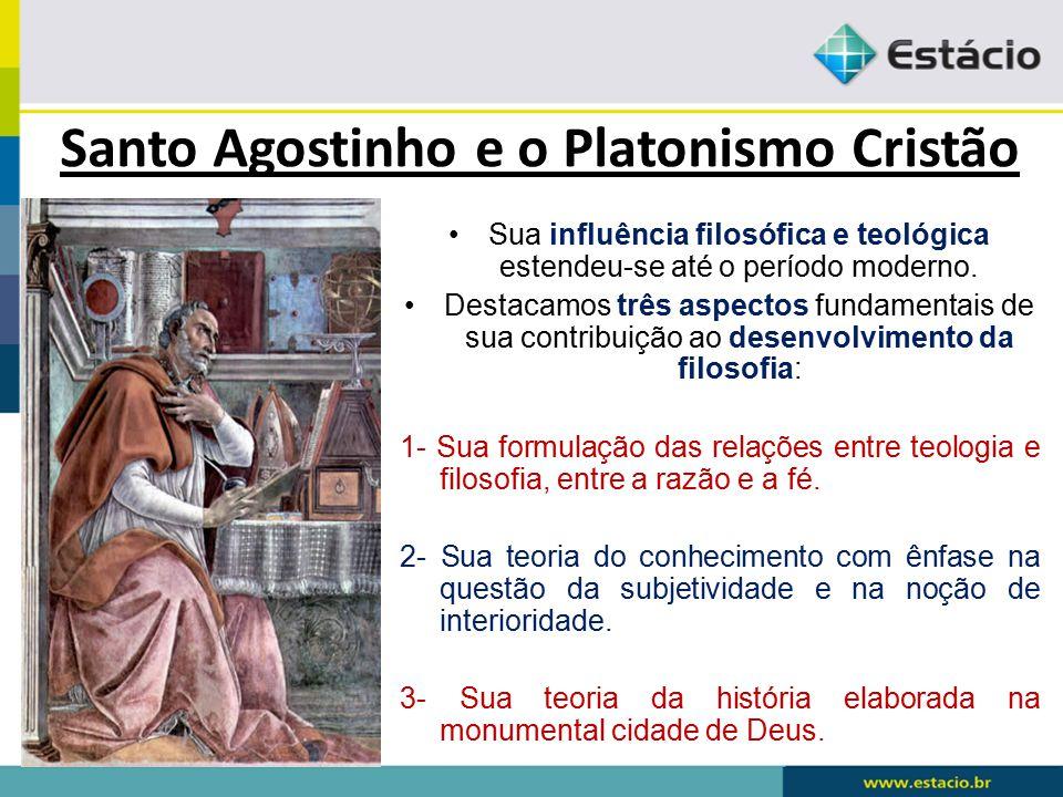 Santo Agostinho e o Platonismo Cristão