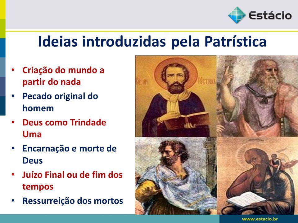 Ideias introduzidas pela Patrística