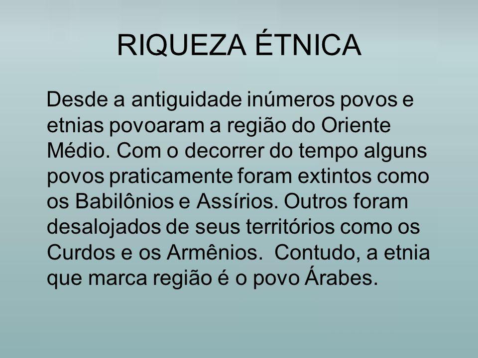 RIQUEZA ÉTNICA