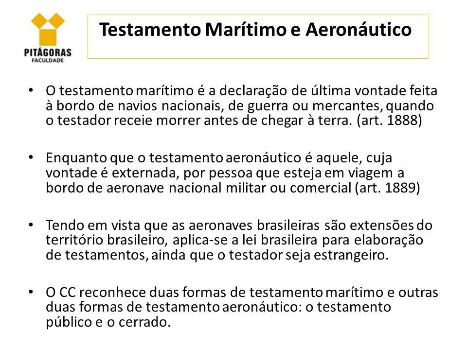 Testamento Marítimo e Aeronáutico