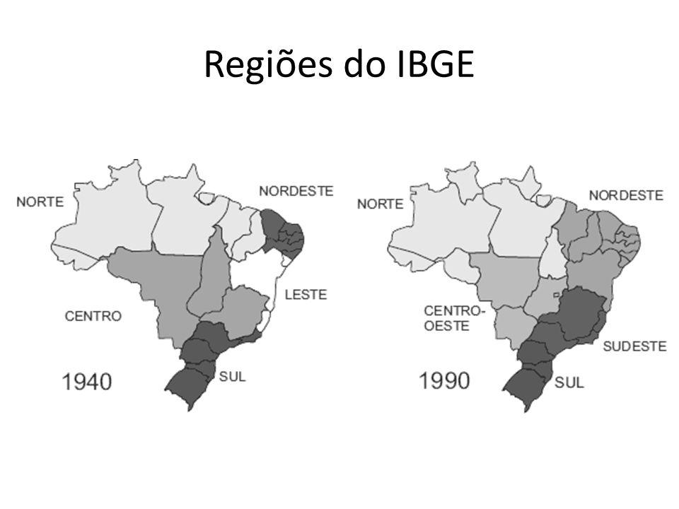 Regiões do IBGE