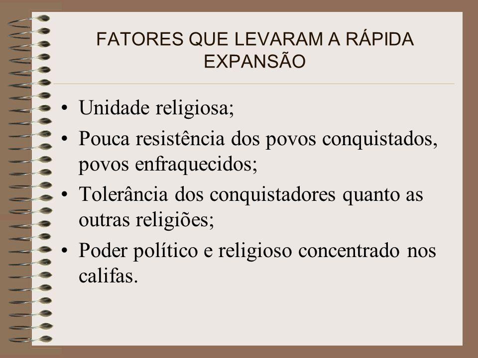 FATORES QUE LEVARAM A RÁPIDA EXPANSÃO