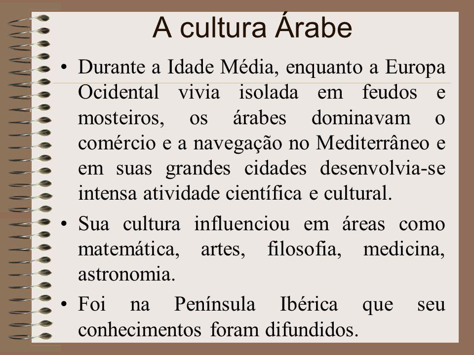 A cultura Árabe