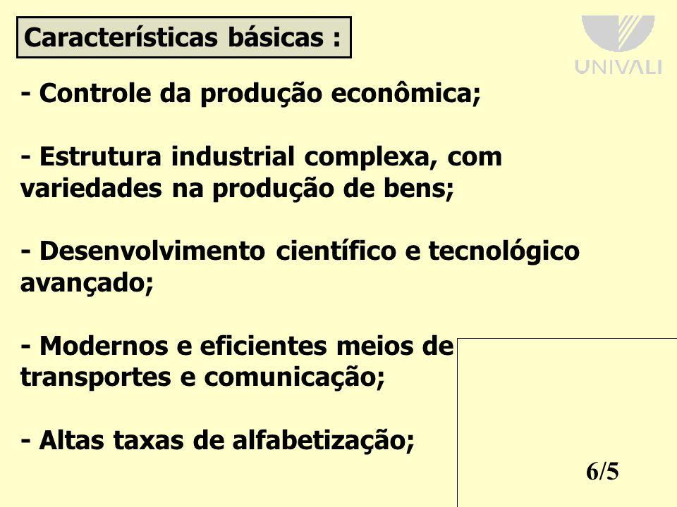 Características básicas :