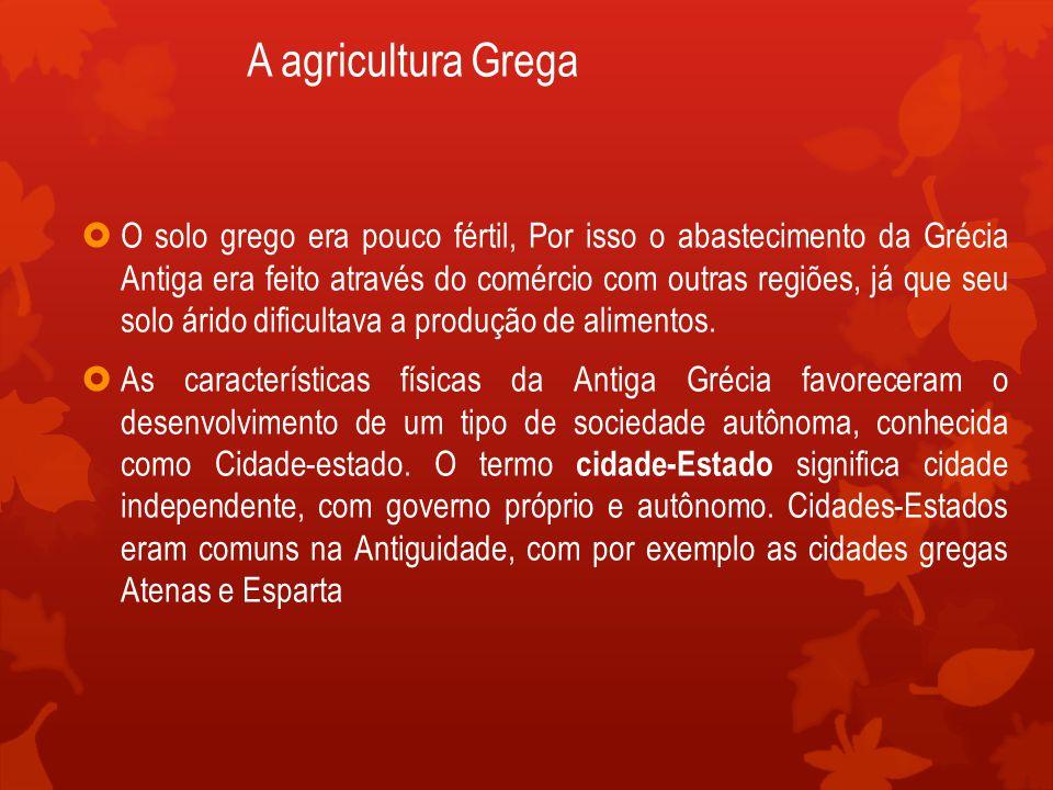 A agricultura Grega
