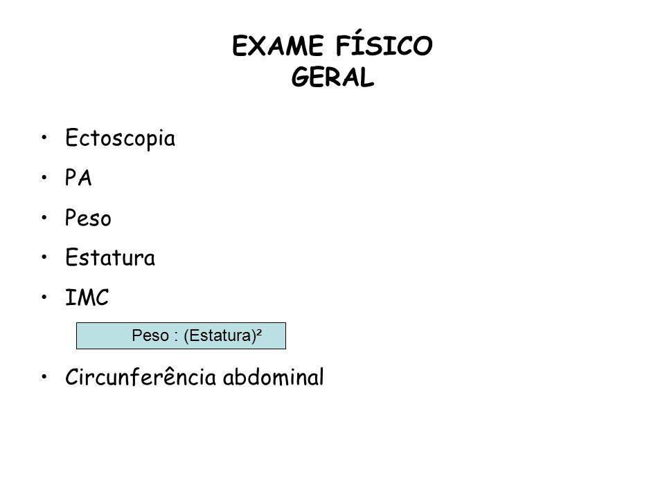 Exame de ginecologia