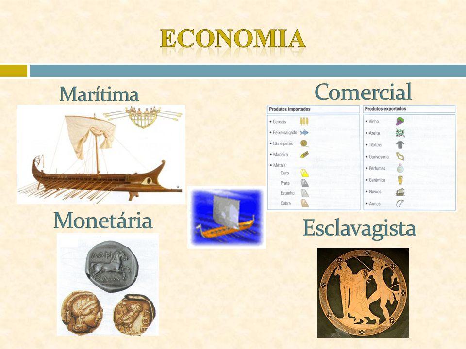 Economia Comercial Marítima Monetária Esclavagista