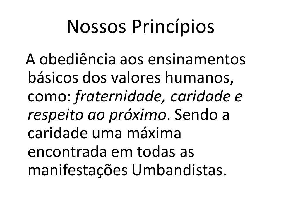 Nossos Princípios