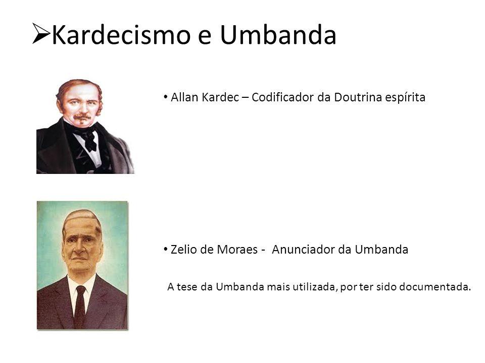 Kardecismo e Umbanda Allan Kardec – Codificador da Doutrina espírita