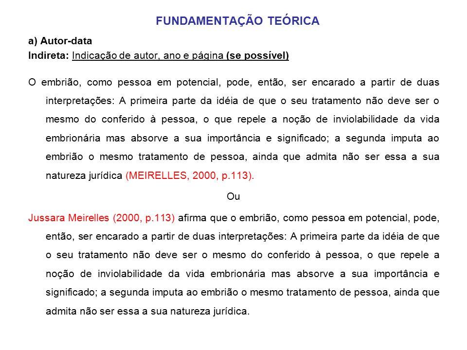 projeto de monografia 5 fundamenta u00c7 u00c3o te u00d3rica