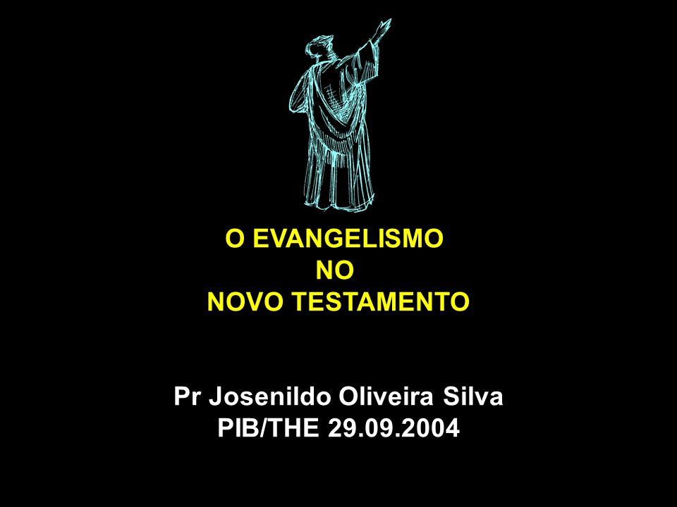Pr Josenildo Oliveira Silva