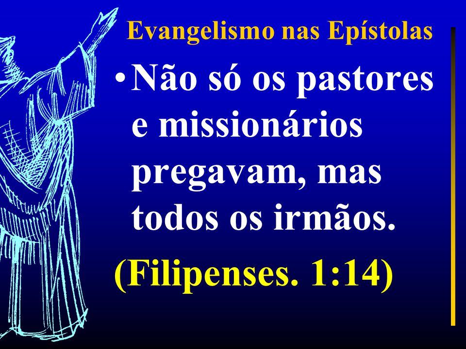 Evangelismo nas Epístolas