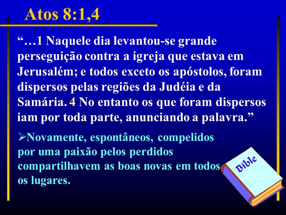 Atos 8:1,4