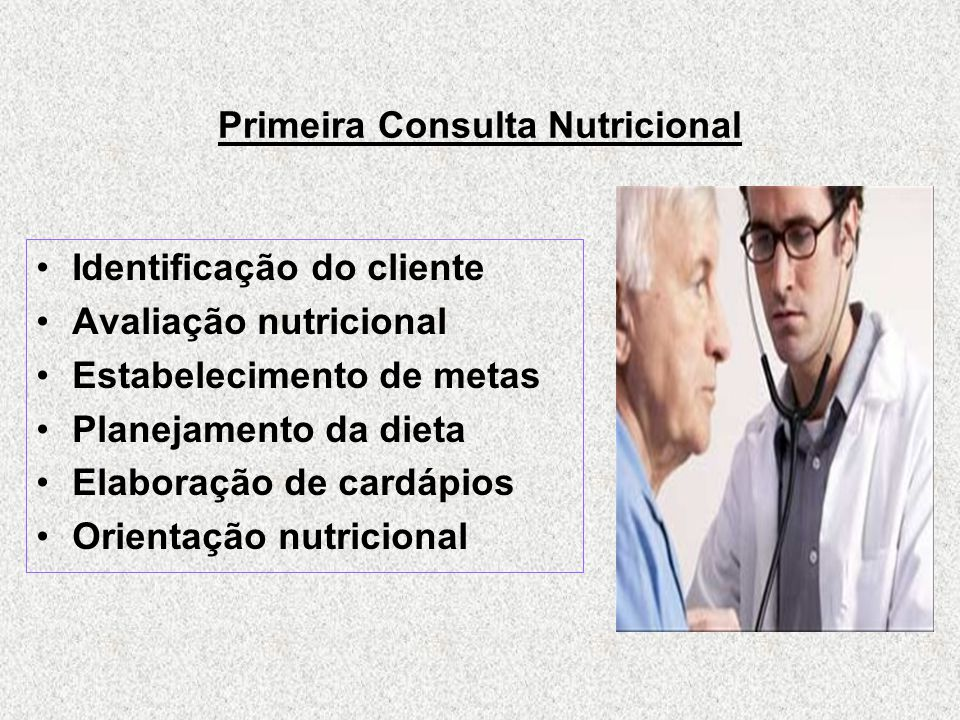 Primeira Consulta Nutricional