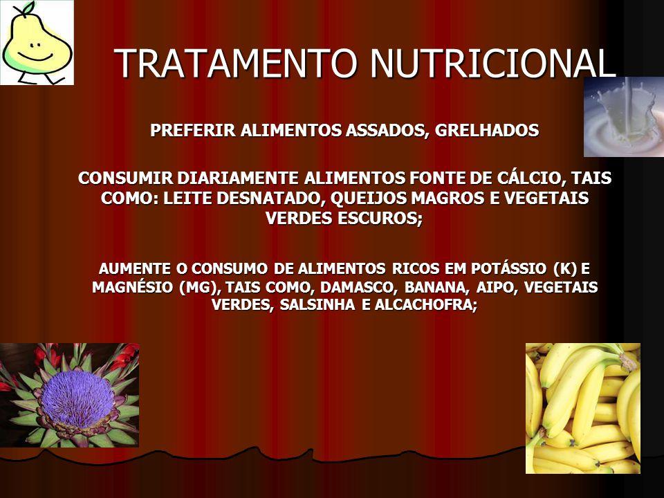 TRATAMENTO NUTRICIONAL