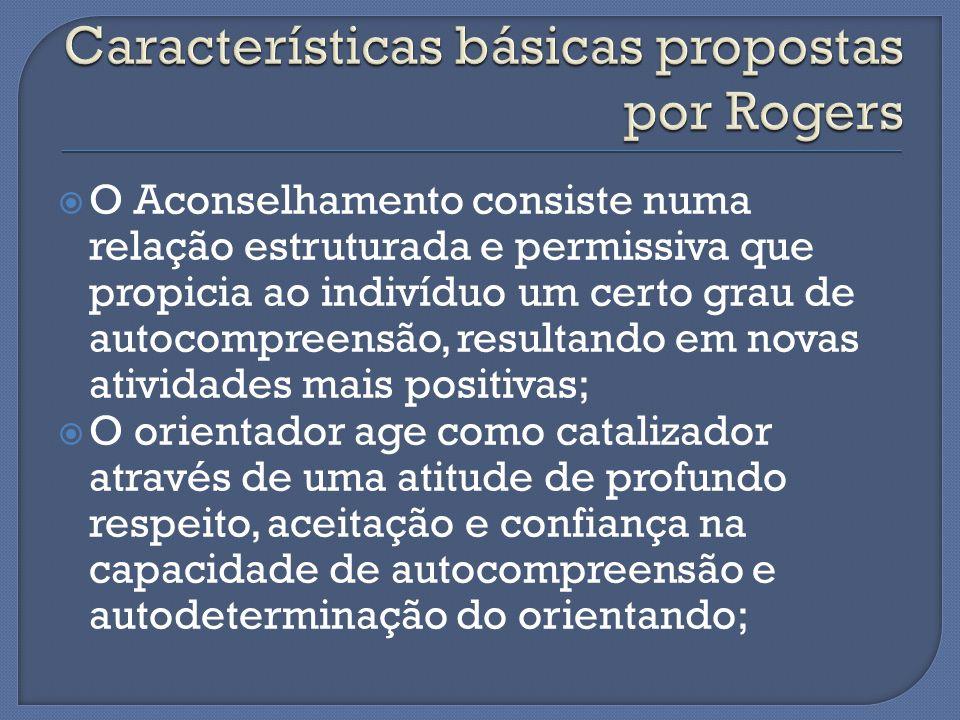 Características básicas propostas por Rogers