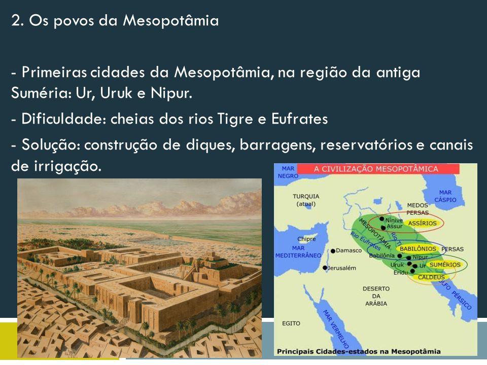 2. Os povos da Mesopotâmia