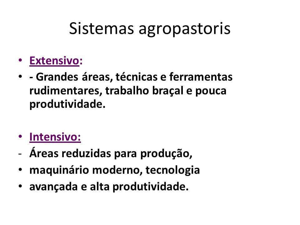 Sistemas agropastoris