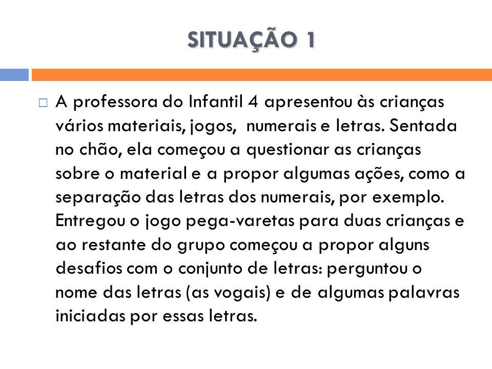 SITUAÇÃO 1