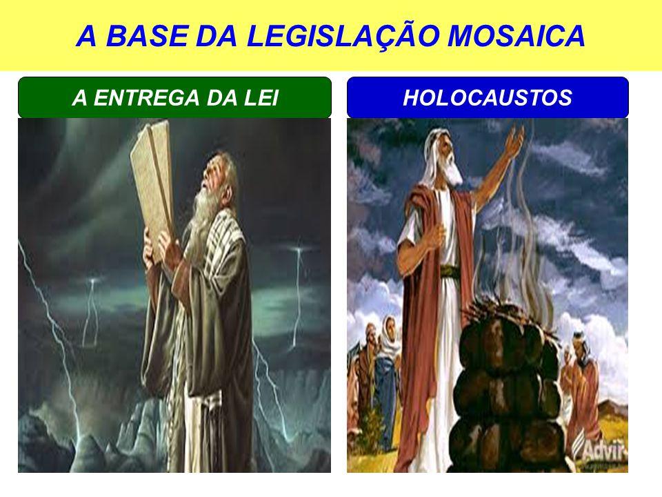 A BASE DA LEGISLAÇÃO MOSAICA