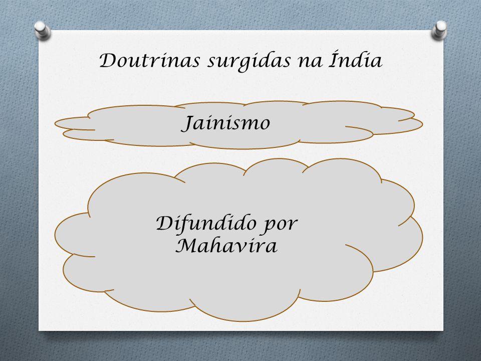 Doutrinas surgidas na Índia