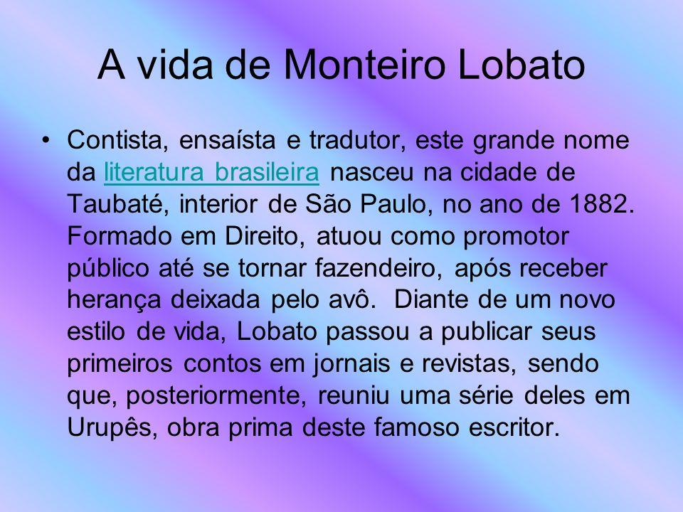 A vida de Monteiro Lobato