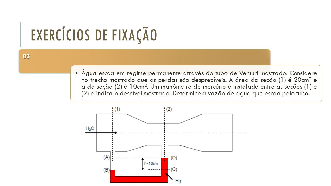 Exercícios de Fixação 03.