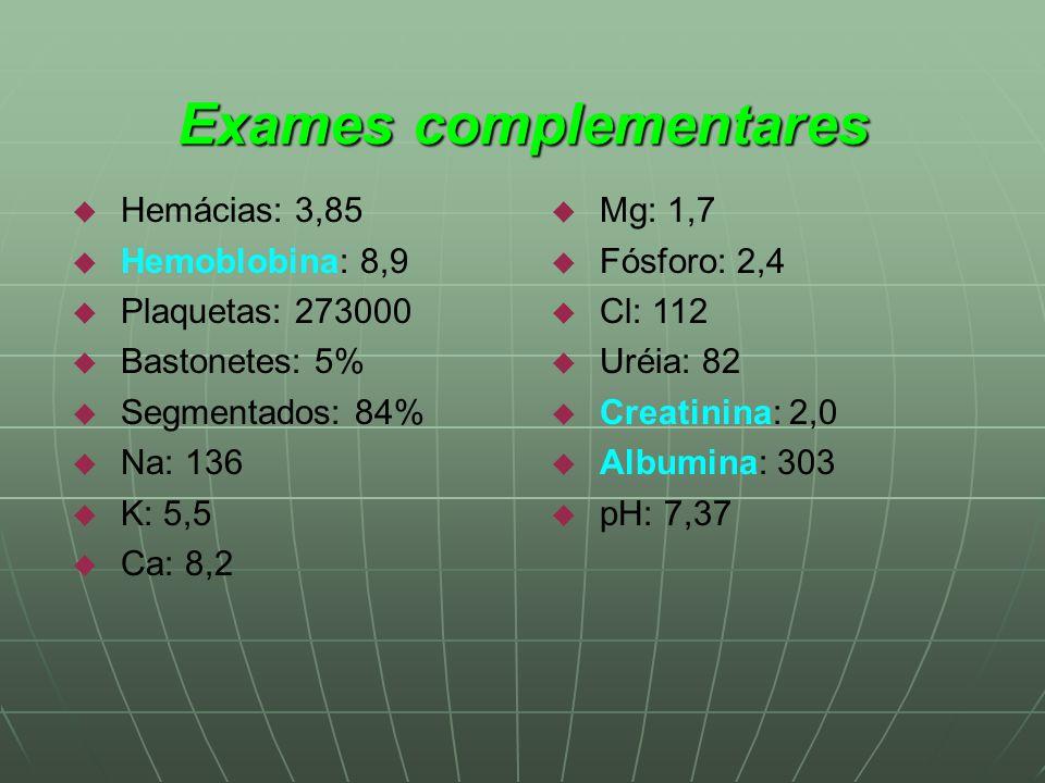Exame albumina