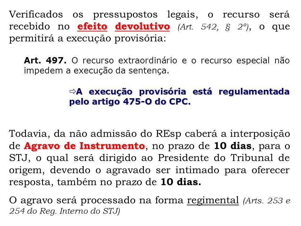 Artigo 542 cpc