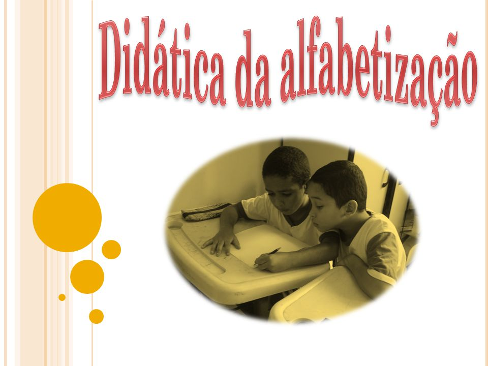 Didática da alfabetização