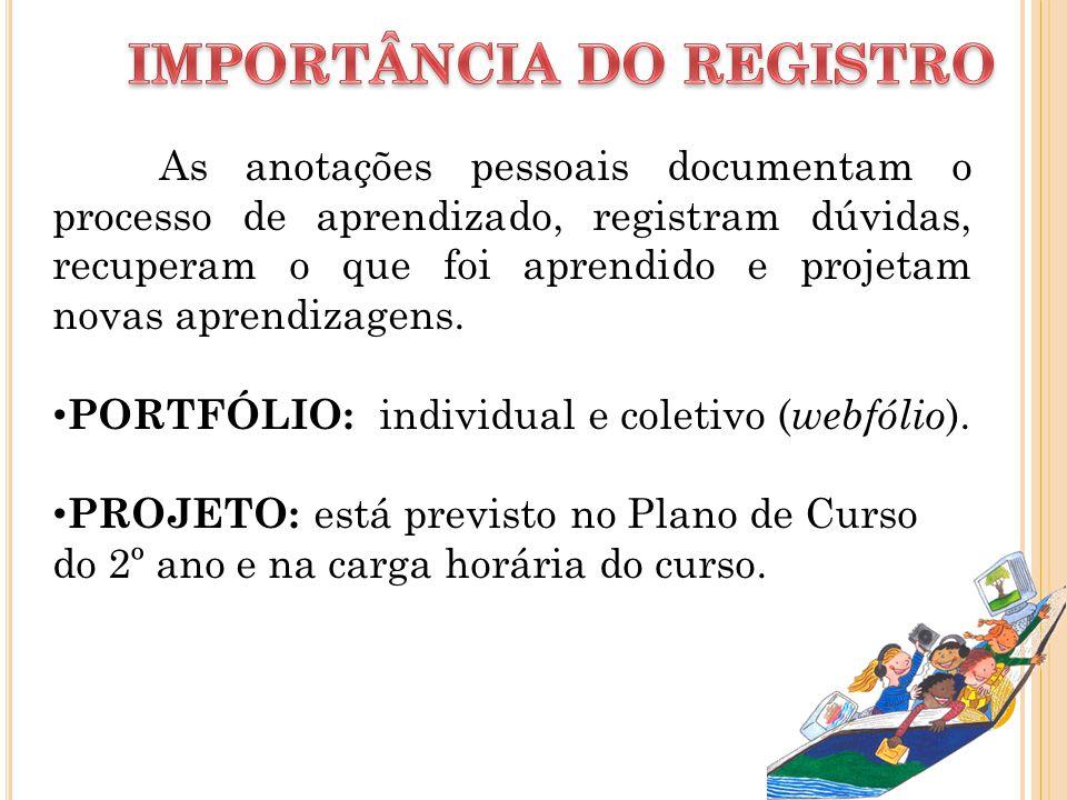IMPORTÂNCIA DO REGISTRO