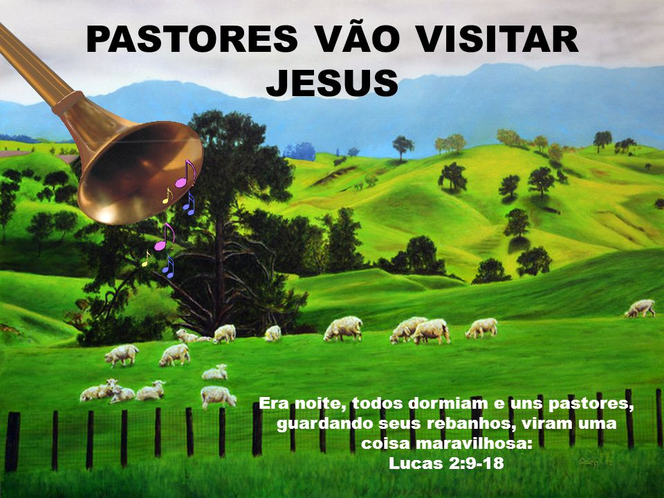 PASTORES VÃO VISITAR JESUS