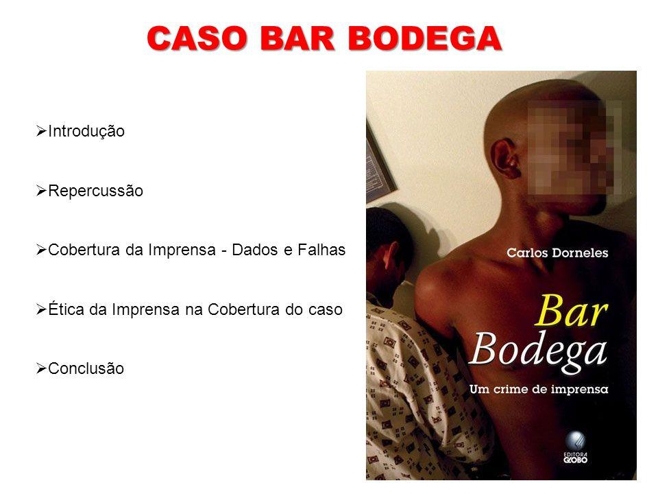 CASO BAR BODEGA Introdução Repercussão