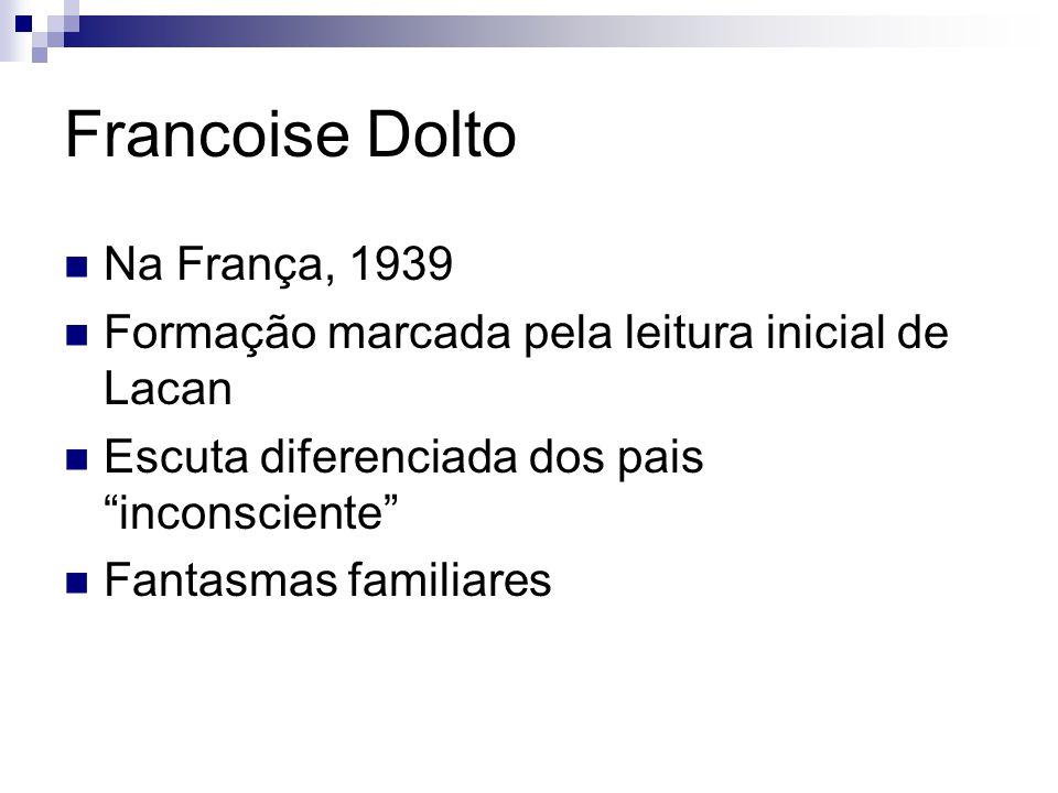 Francoise Dolto Na França, 1939