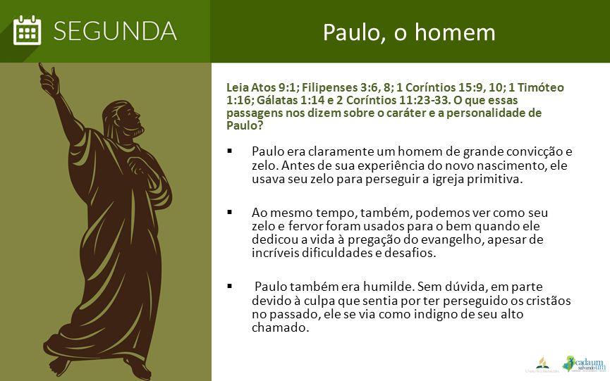 Paulo, o homem