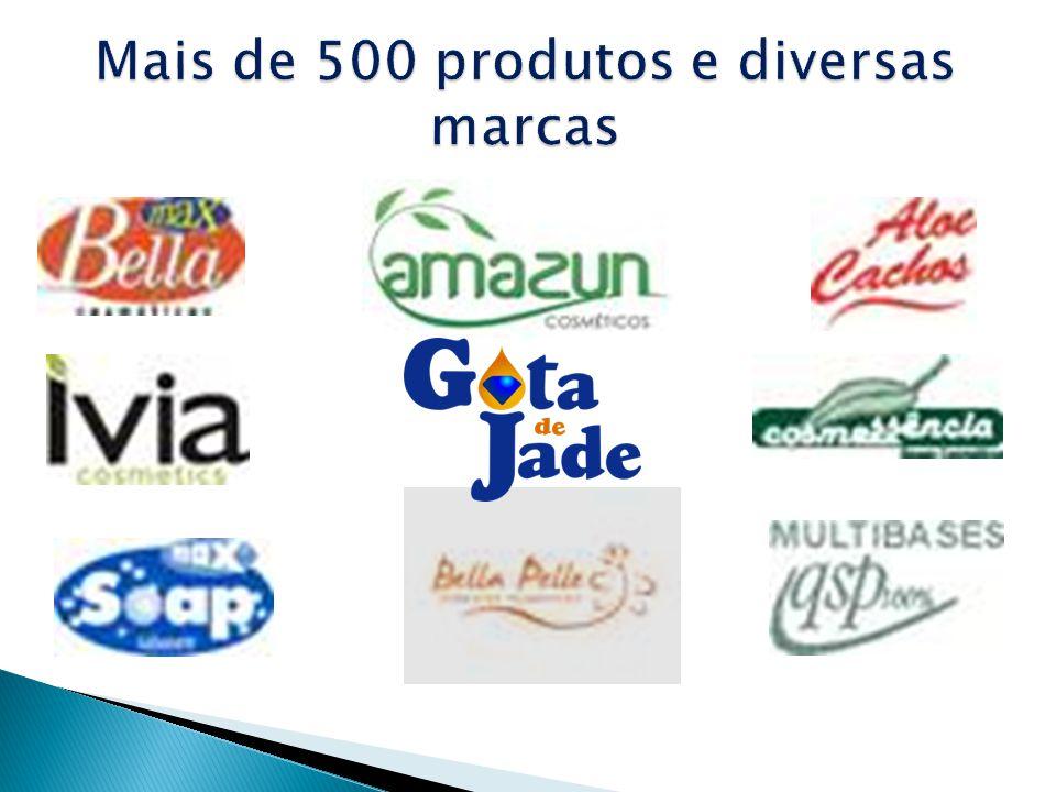 Mais de 500 produtos e diversas marcas